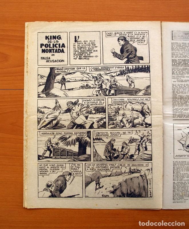 Tebeos: Leyendas, nº 144 - Editorial Hispano Americana 1944 - Tamaño 37x27 - Foto 5 - 97858435