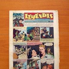 Tebeos: LEYENDAS, SEMANARIO JUVENIL, Nº 149 - EDITORIAL HISPANO AMERICANA 1944 - TAMAÑO 37X27. Lote 97858579