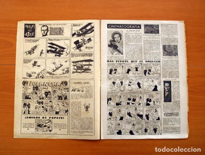 Tebeos: Leyendas, Semanario Juvenil, nº 149 - Editorial Hispano Americana 1944 - Tamaño 37x27 - Foto 2 - 97858579