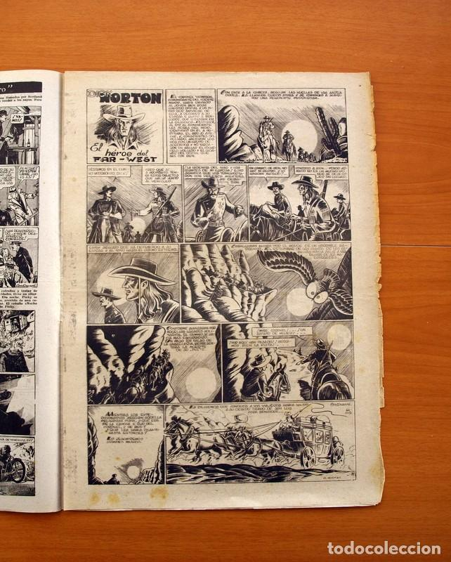 Tebeos: Leyendas, Semanario Juvenil, nº 149 - Editorial Hispano Americana 1944 - Tamaño 37x27 - Foto 3 - 97858579