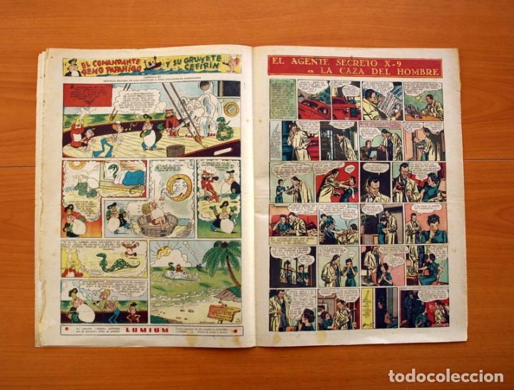 Tebeos: Leyendas, Semanario Juvenil, nº 149 - Editorial Hispano Americana 1944 - Tamaño 37x27 - Foto 4 - 97858579