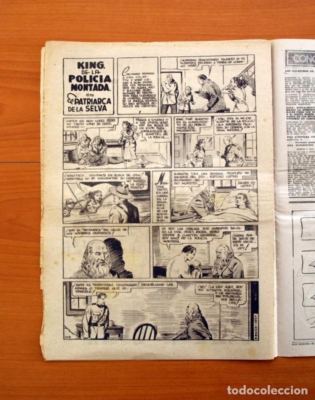 Tebeos: Leyendas, Semanario Juvenil, nº 149 - Editorial Hispano Americana 1944 - Tamaño 37x27 - Foto 5 - 97858579