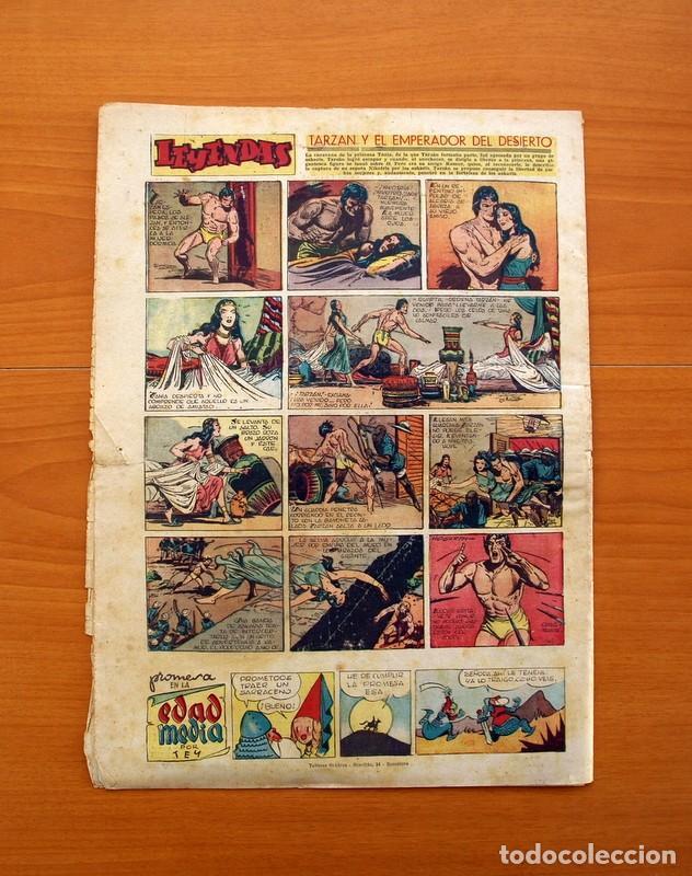 Tebeos: Leyendas, Semanario Juvenil, nº 149 - Editorial Hispano Americana 1944 - Tamaño 37x27 - Foto 7 - 97858579