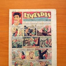 Tebeos: LEYENDAS, SEMANARIO JUVENIL Nº 174 - EDITORIAL HISPANO AMERICANA 1944 - TAMAÑO 37X27. Lote 97860547