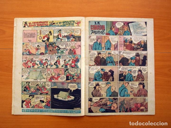 Tebeos: Leyendas, Semanario Juvenil nº 174 - Editorial Hispano Americana 1944 - Tamaño 37x27 - Foto 3 - 97860547