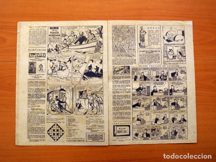 Tebeos: Leyendas, Semanario Juvenil nº 174 - Editorial Hispano Americana 1944 - Tamaño 37x27 - Foto 4 - 97860547
