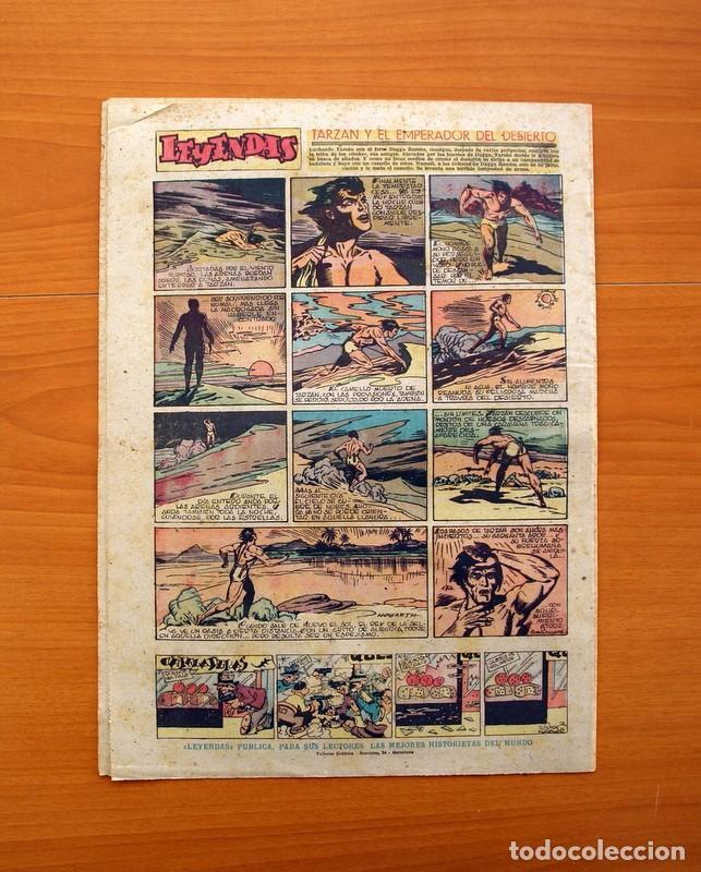Tebeos: Leyendas, Semanario Juvenil nº 174 - Editorial Hispano Americana 1944 - Tamaño 37x27 - Foto 5 - 97860547