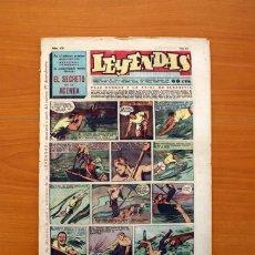 Tebeos: LEYENDAS, SEMANARIO JUVENIL Nº 176 - EDITORIAL HISPANO AMERICANA 1944 - TAMAÑO 37X27. Lote 97860715