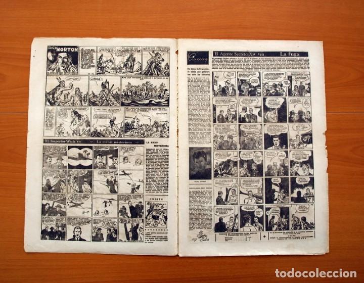 Tebeos: Leyendas, Semanario Juvenil nº 176 - Editorial Hispano Americana 1944 - Tamaño 37x27 - Foto 2 - 97860715