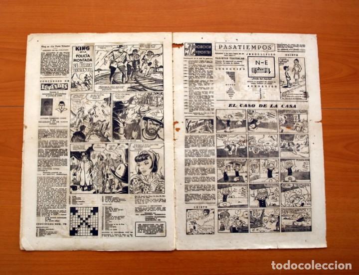 Tebeos: Leyendas, Semanario Juvenil nº 176 - Editorial Hispano Americana 1944 - Tamaño 37x27 - Foto 4 - 97860715