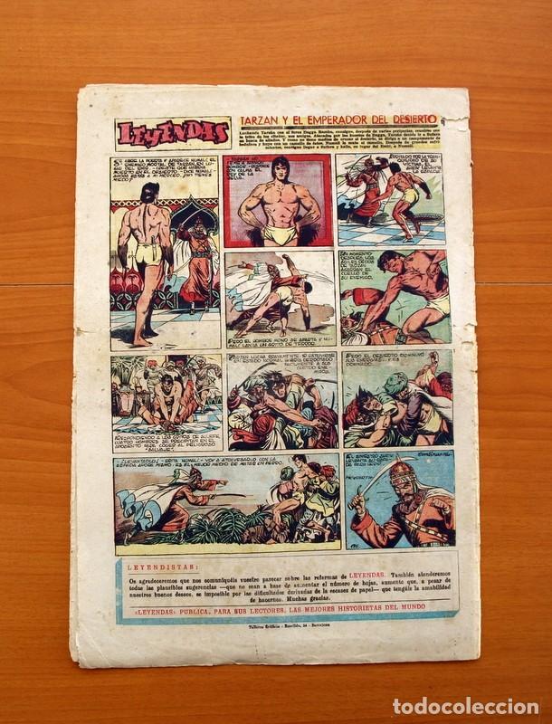 Tebeos: Leyendas, Semanario Juvenil nº 176 - Editorial Hispano Americana 1944 - Tamaño 37x27 - Foto 5 - 97860715