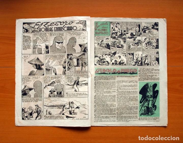 Tebeos: Aventurero 2ª época o serie, nº 3 - Editorial Hispano Americana 1945 - Tamaño 38x27 - Foto 2 - 97908487
