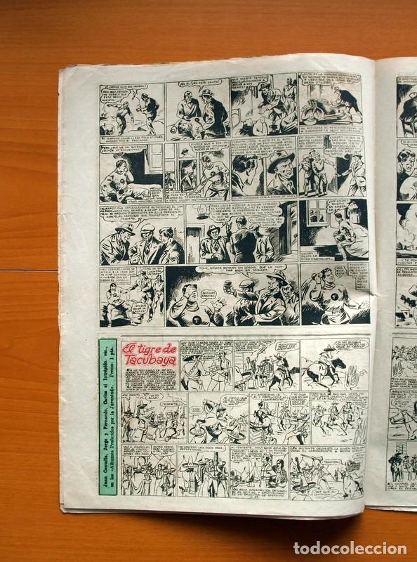 Tebeos: Aventurero 2ª época o serie, nº 3 - Editorial Hispano Americana 1945 - Tamaño 38x27 - Foto 4 - 97908487