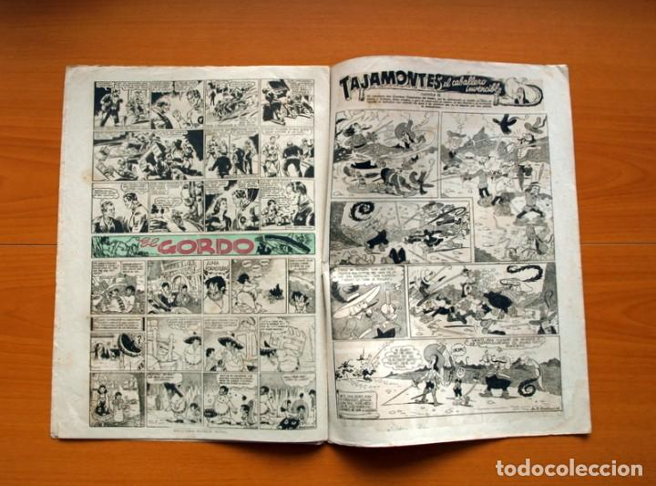 Tebeos: Aventurero 2ª época o serie, nº 3 - Editorial Hispano Americana 1945 - Tamaño 38x27 - Foto 6 - 97908487