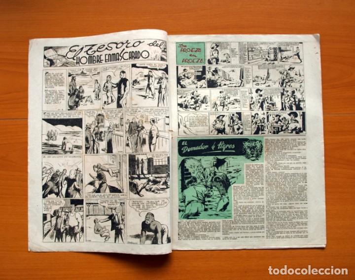 Tebeos: Aventurero 2ª época o serie, nº 4 - Editorial Hispano Americana 1945 - Tamaño 38x27 - Foto 2 - 97908571