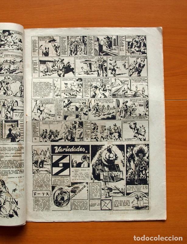 Tebeos: Aventurero 2ª época o serie, nº 4 - Editorial Hispano Americana 1945 - Tamaño 38x27 - Foto 3 - 97908571