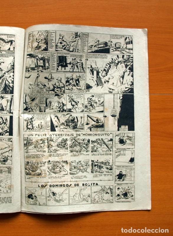 Tebeos: Aventurero 2ª época o serie, nº 4 - Editorial Hispano Americana 1945 - Tamaño 38x27 - Foto 5 - 97908571