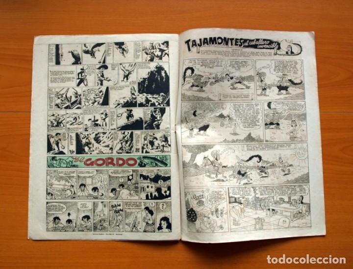 Tebeos: Aventurero 2ª época o serie, nº 4 - Editorial Hispano Americana 1945 - Tamaño 38x27 - Foto 6 - 97908571