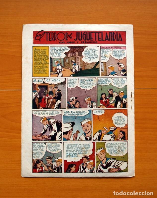 Tebeos: Aventurero 2ª época o serie, nº 4 - Editorial Hispano Americana 1945 - Tamaño 38x27 - Foto 7 - 97908571