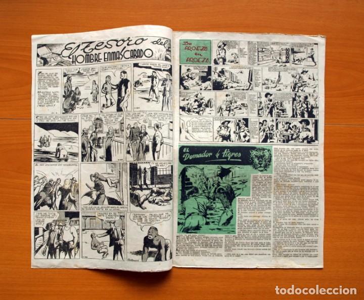 Tebeos: Aventurero 2ª época o serie, nº 4 - Editorial Hispano Americana 1945 - Tamaño 38x27 - Foto 2 - 97908675