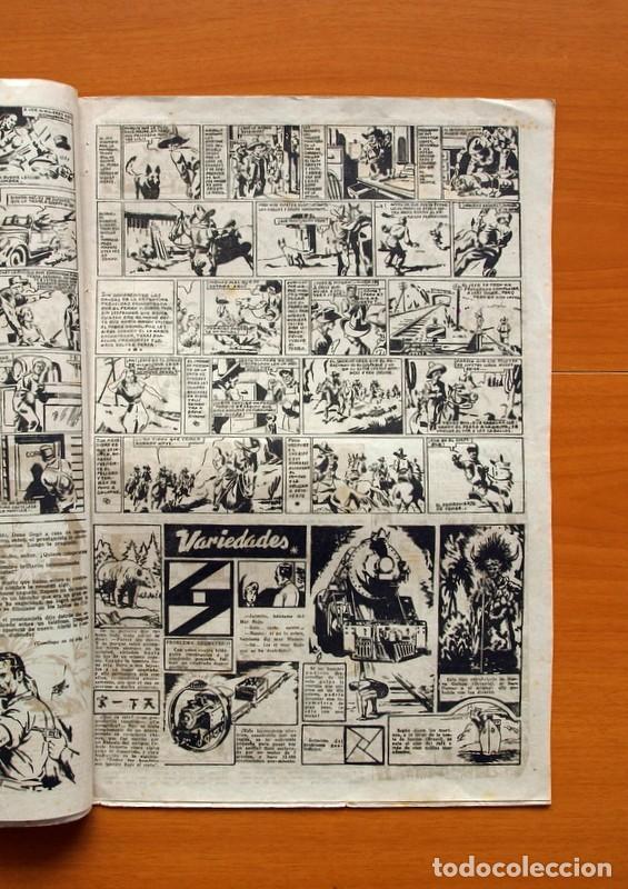 Tebeos: Aventurero 2ª época o serie, nº 4 - Editorial Hispano Americana 1945 - Tamaño 38x27 - Foto 3 - 97908675