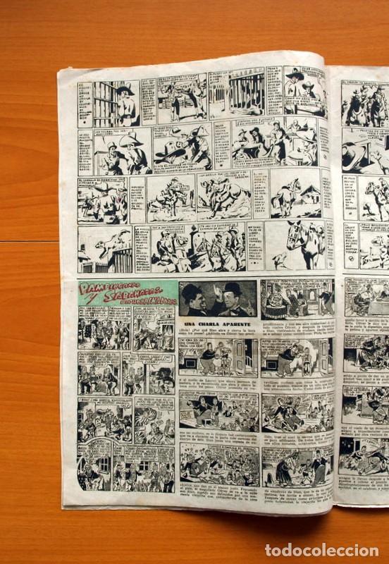Tebeos: Aventurero 2ª época o serie, nº 4 - Editorial Hispano Americana 1945 - Tamaño 38x27 - Foto 4 - 97908675
