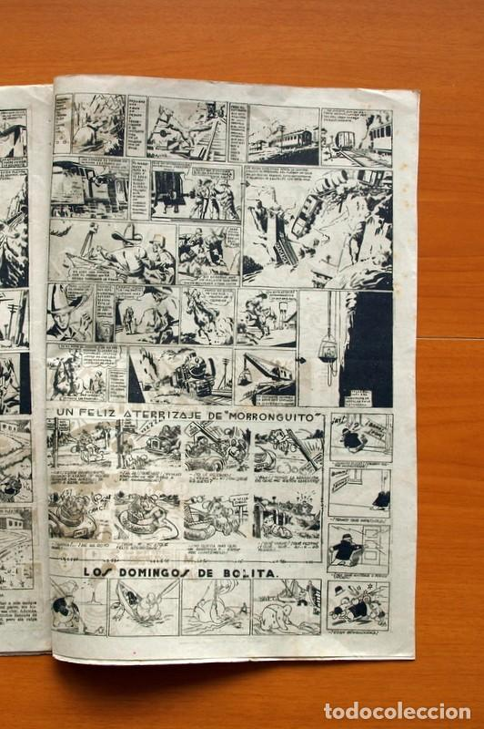 Tebeos: Aventurero 2ª época o serie, nº 4 - Editorial Hispano Americana 1945 - Tamaño 38x27 - Foto 5 - 97908675
