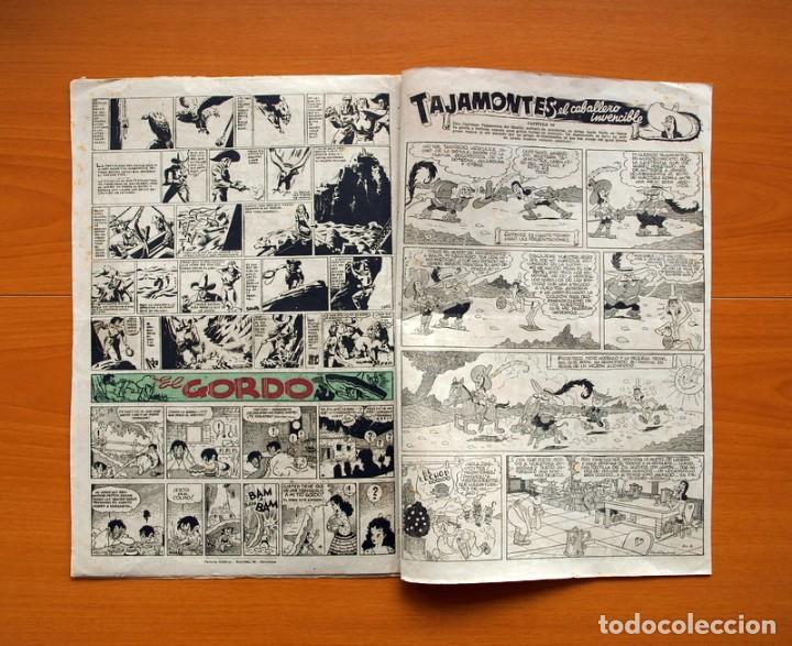 Tebeos: Aventurero 2ª época o serie, nº 4 - Editorial Hispano Americana 1945 - Tamaño 38x27 - Foto 6 - 97908675