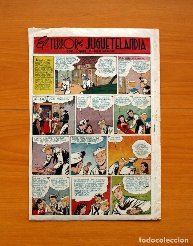 Tebeos: Aventurero 2ª época o serie, nº 4 - Editorial Hispano Americana 1945 - Tamaño 38x27 - Foto 7 - 97908675