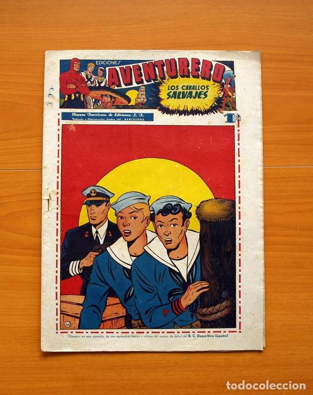 AVENTURERO 2ª ÉPOCA O SERIE, Nº 8 - EDITORIAL HISPANO AMERICANA 1945 - TAMAÑO 38X27 (Tebeos y Comics - Hispano Americana - Aventurero)