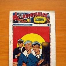 Tebeos: AVENTURERO 2ª ÉPOCA O SERIE, Nº 8 - EDITORIAL HISPANO AMERICANA 1945 - TAMAÑO 38X27. Lote 97908907