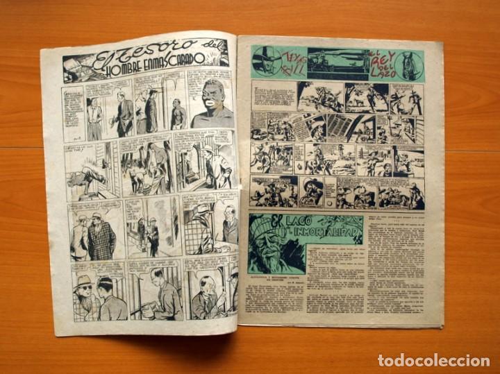 Tebeos: Aventurero 2ª época o serie, nº 8 - Editorial Hispano Americana 1945 - Tamaño 38x27 - Foto 2 - 97908907