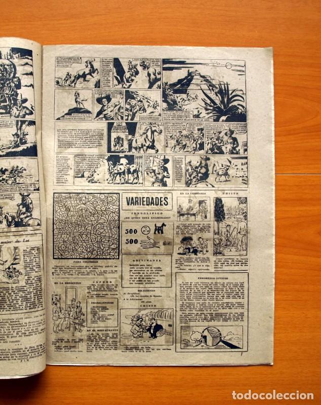 Tebeos: Aventurero 2ª época o serie, nº 8 - Editorial Hispano Americana 1945 - Tamaño 38x27 - Foto 3 - 97908907
