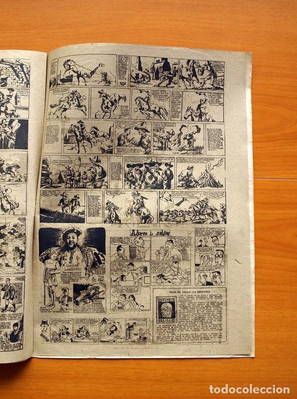 Tebeos: Aventurero 2ª época o serie, nº 8 - Editorial Hispano Americana 1945 - Tamaño 38x27 - Foto 5 - 97908907
