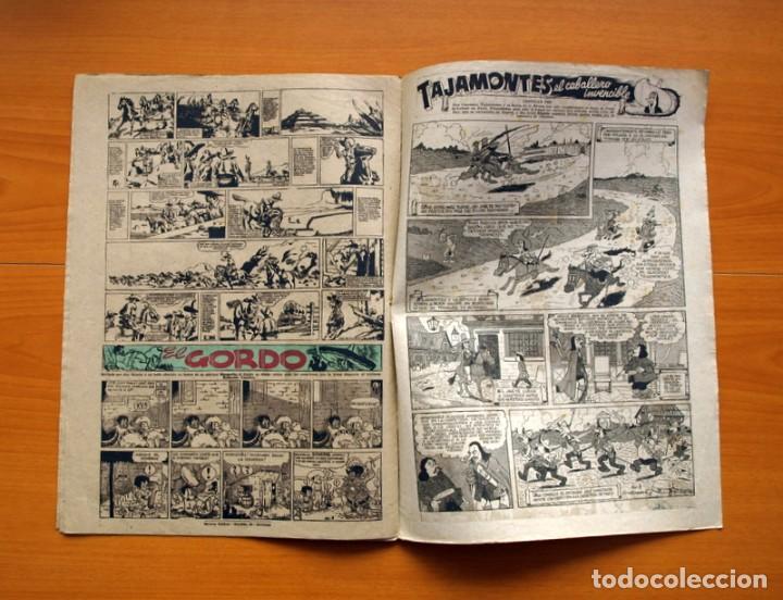 Tebeos: Aventurero 2ª época o serie, nº 8 - Editorial Hispano Americana 1945 - Tamaño 38x27 - Foto 6 - 97908907