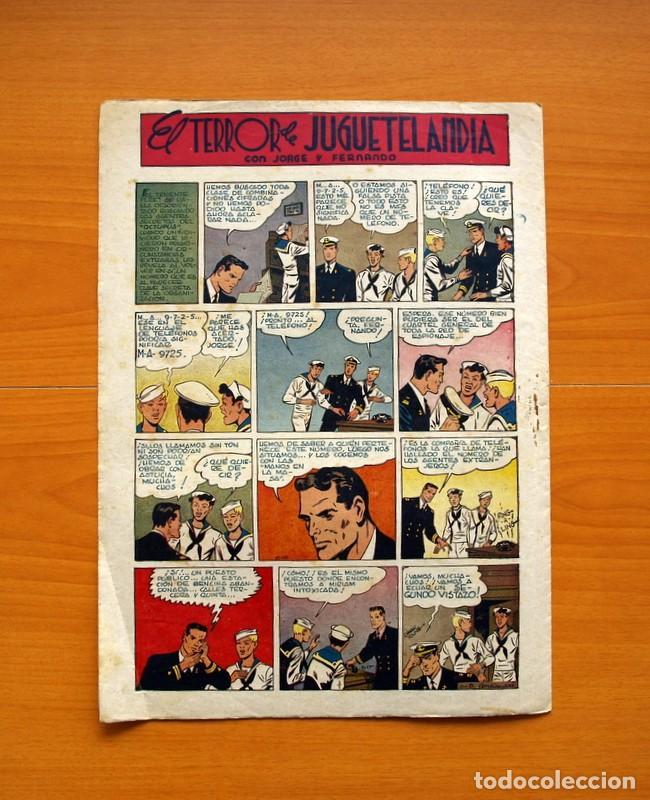 Tebeos: Aventurero 2ª época o serie, nº 8 - Editorial Hispano Americana 1945 - Tamaño 38x27 - Foto 7 - 97908907