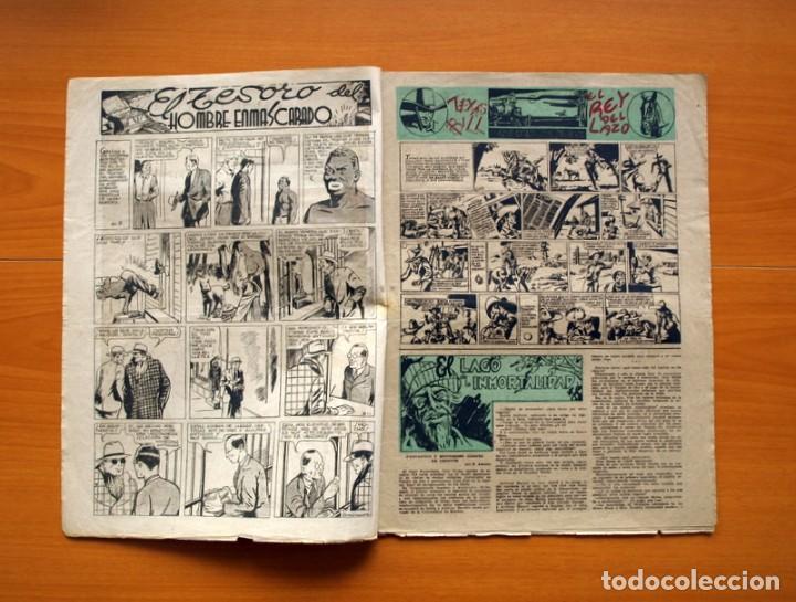 Tebeos: Aventurero 2ª época o serie, nº 8 - Editorial Hispano Americana 1945 - Tamaño 38x27 - Foto 2 - 97909007