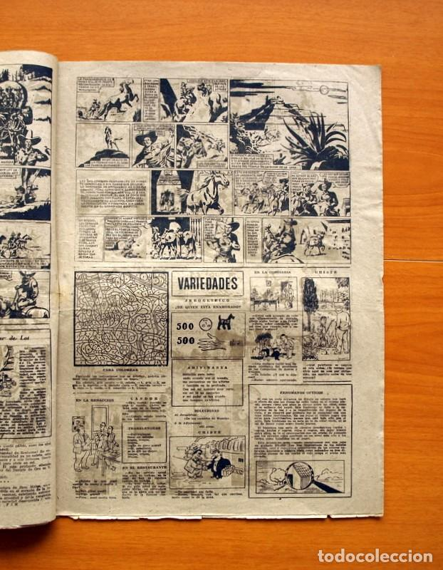 Tebeos: Aventurero 2ª época o serie, nº 8 - Editorial Hispano Americana 1945 - Tamaño 38x27 - Foto 3 - 97909007