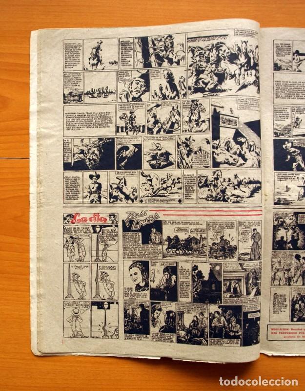 Tebeos: Aventurero 2ª época o serie, nº 8 - Editorial Hispano Americana 1945 - Tamaño 38x27 - Foto 4 - 97909007