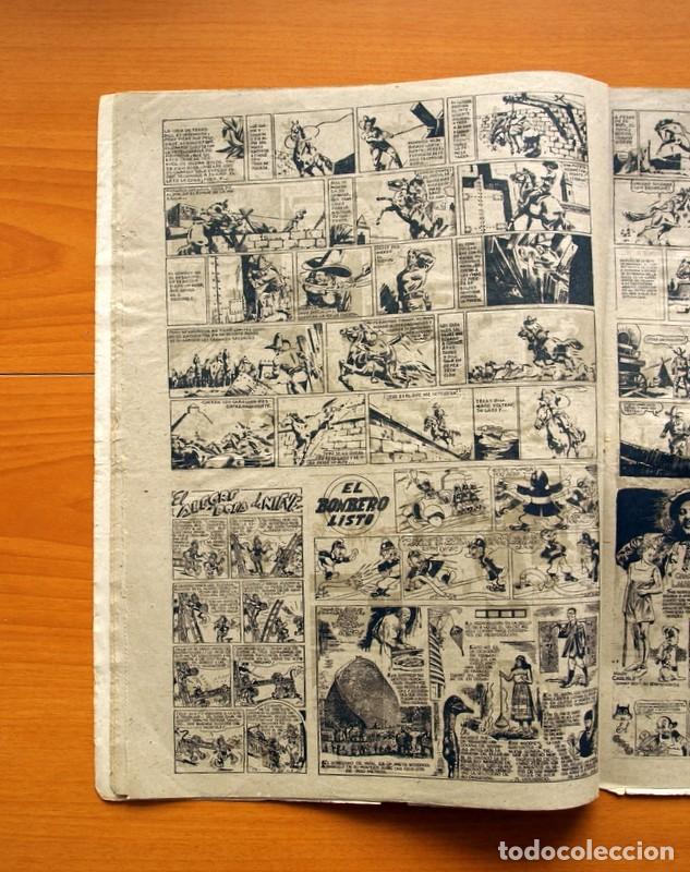 Tebeos: Aventurero 2ª época o serie, nº 8 - Editorial Hispano Americana 1945 - Tamaño 38x27 - Foto 5 - 97909007