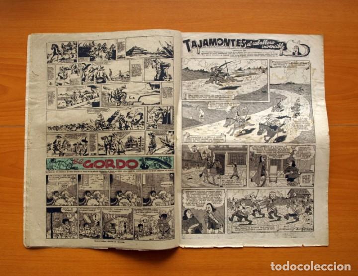 Tebeos: Aventurero 2ª época o serie, nº 8 - Editorial Hispano Americana 1945 - Tamaño 38x27 - Foto 6 - 97909007