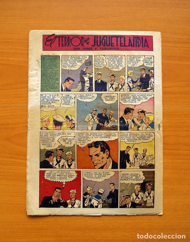 Tebeos: Aventurero 2ª época o serie, nº 8 - Editorial Hispano Americana 1945 - Tamaño 38x27 - Foto 7 - 97909007
