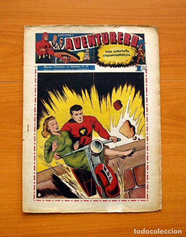 AVENTURERO 2ª ÉPOCA O SERIE, Nº 9 - EDITORIAL HISPANO AMERICANA 1945 - TAMAÑO 38X27 (Tebeos y Comics - Hispano Americana - Aventurero)