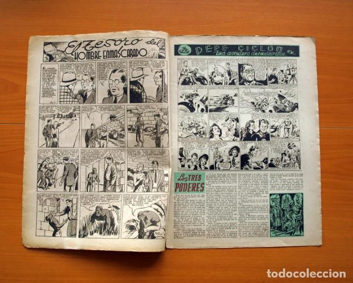 Tebeos: Aventurero 2ª época o serie, nº 9 - Editorial Hispano Americana 1945 - Tamaño 38x27 - Foto 2 - 97909319