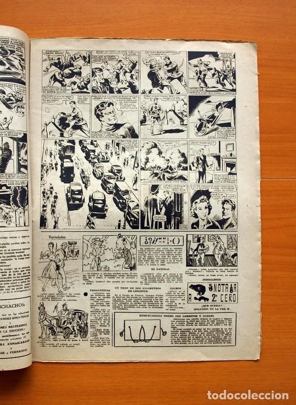 Tebeos: Aventurero 2ª época o serie, nº 9 - Editorial Hispano Americana 1945 - Tamaño 38x27 - Foto 3 - 97909319