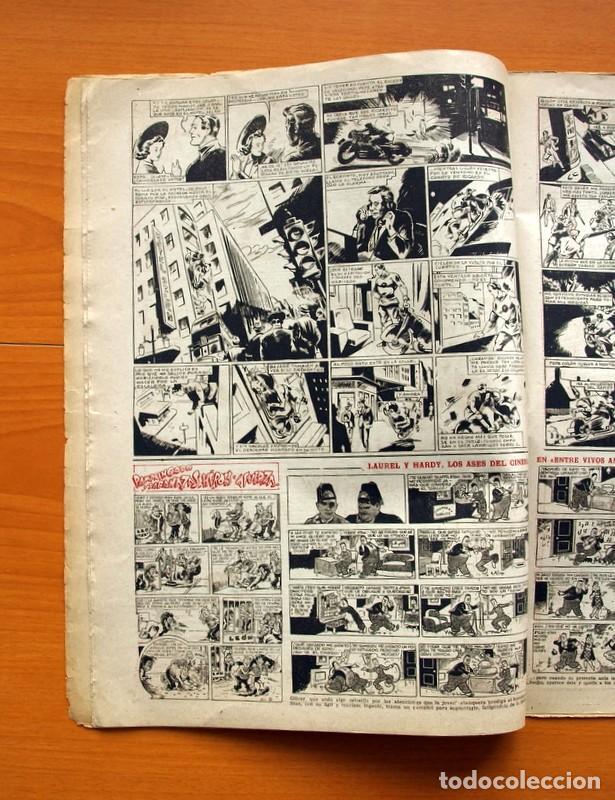 Tebeos: Aventurero 2ª época o serie, nº 9 - Editorial Hispano Americana 1945 - Tamaño 38x27 - Foto 4 - 97909319