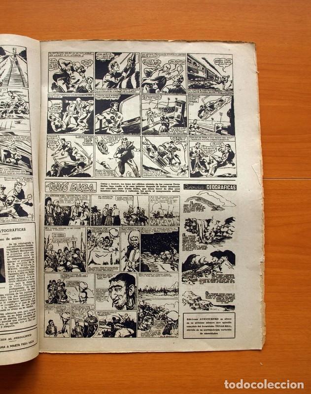Tebeos: Aventurero 2ª época o serie, nº 9 - Editorial Hispano Americana 1945 - Tamaño 38x27 - Foto 5 - 97909319