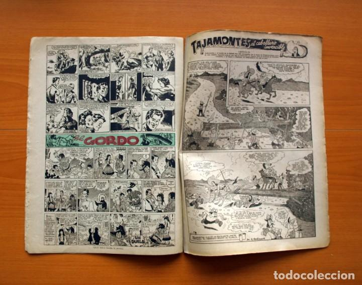 Tebeos: Aventurero 2ª época o serie, nº 9 - Editorial Hispano Americana 1945 - Tamaño 38x27 - Foto 6 - 97909319