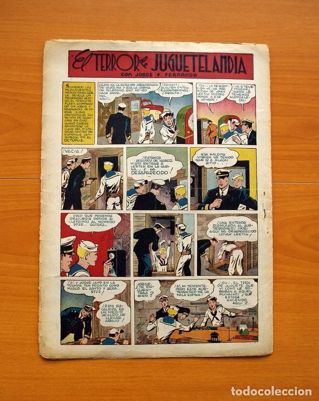Tebeos: Aventurero 2ª época o serie, nº 9 - Editorial Hispano Americana 1945 - Tamaño 38x27 - Foto 7 - 97909319