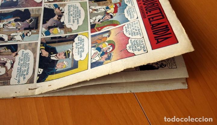 Tebeos: Aventurero 2ª época o serie, nº 9 - Editorial Hispano Americana 1945 - Tamaño 38x27 - Foto 8 - 97909319